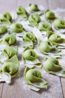 Pansotti verde (Пансотти верде со шпинатом и рикоттой)