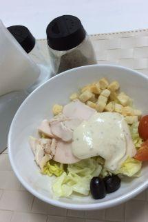 Салат «Цезарь» с курицей