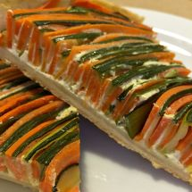 Овощной тарт