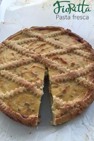 Итальянский пирог Pastiera (Пастьера)