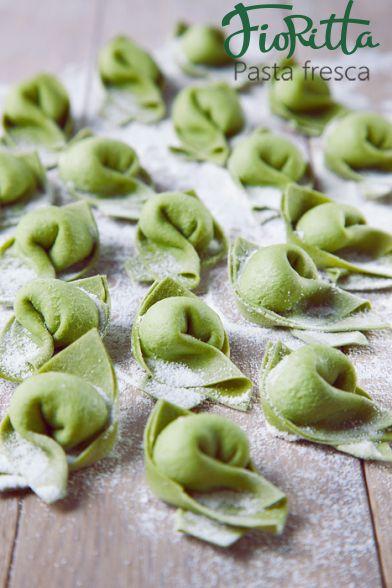 Pansotti verde (со шпинатом и рикоттой)